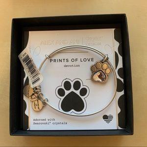 Alex and Ani Prints of Love Bracelet